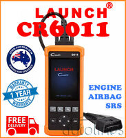 LAUNCH Creader 6011 Car OBD2 ABS SRS Engine Fault Diagnostic Scanner Code Reader