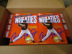 (10) Cal Ripken Jr. 2131 Wheaties Cereal Boxes - (5) w/Jersey Logo & (5) Without