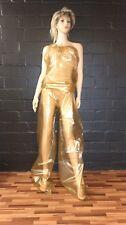 2 stück Gold Sauna Suit one big Size PVC Schwitzanzug Folien Anzug
