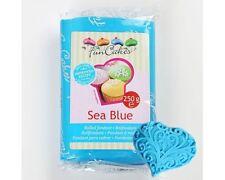 FunCakes Rollfondant 250g Sea Blue Fondant blau