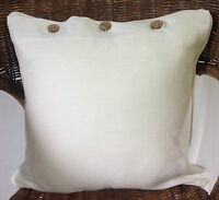 Off White Cushion Cover Neutral Scatter Throw Decor Pillow Case Sofa Day Bed New