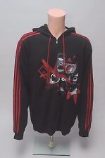 Vintage Adidas Full Zip Jacket Hoodie Product Sample Men's Size L Hip Hop