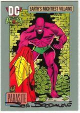 Jon Bogdanove SIGNED DC 1991 Superman Man of Steel Art Card ~ Parasite