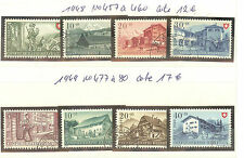 TIMBRES SUISSE FETE NATIONALE OBLITERES ANNEE 1948 A 49 COTE 29€