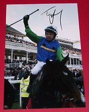 Timmy Murphy rispettino o morire mano firmato 12x8 FOTO 2008 Grand National