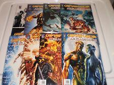 DC Comics Captain Atom Armageddon #1-9 (2005-06) Wildstorm