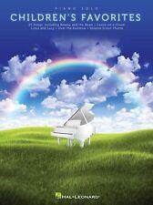Favoritos de piano solista para niños aprender a tocar música película Canciones Melodías niños libro