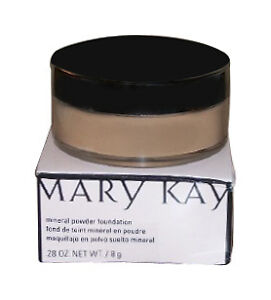 Mary Kay Mineral Powder Foundation Ivory 1 new in box