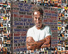 Bruce Springsteen Album Cover and Song Title Word Art Mosaic