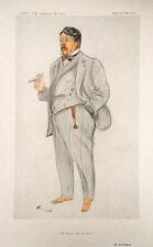 Vanity Fair Print * Arnold Bennett  1913 + COPY of BIO