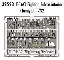 Eduard 1/32 F-16CJ interior for Tamiya kit # 32523