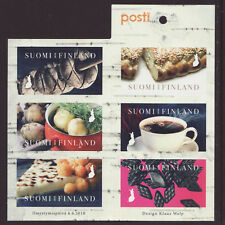 Finland 2018 MNH - Tastes from Finland - booklet of 6 stamps