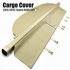 1x Beige Retractable Cargo Cover Luggage Security Shade for Toyota RAV4 SUV