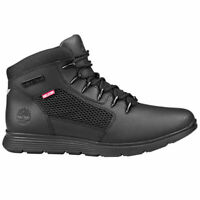 TIMBERLAND Men's Killington Hiker Leather Boots Shoes Casual - ALL BLACK