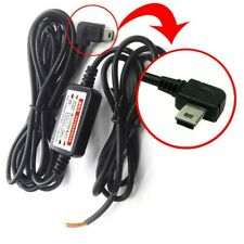 For DVR GPS 12v-to-5v Mini USB Car Charger Adapter Direct Hard Wired Cable DC