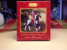 Breyer 700617 Retro Pinto Western Prancer Horse & Indian Chief Ornament  NIB