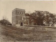 Albumen print original photograph Kendal Selside church c 1890 Fpp2