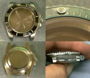 """Genuine 2004 Rolex Submariner """"F"""" Series Diver Wristwatch Case 116570 / F437091"""