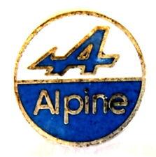 Voiture pin/broches-renault alpine Logo [1291]