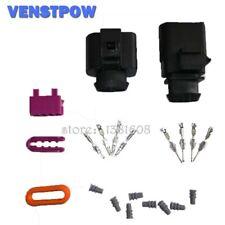 1set 4Pin 1.5mm 1J0973804 1J0973704 Auto Temp sensor plug  waterproof Electrical