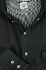 Columbia PFG Men's Charcoal Polyester Cotton Outdoor Fishing Shirt XL XLarge