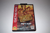 Operation Europe Path to Victory 1939-45 Sega Genesis Video Game Box Only