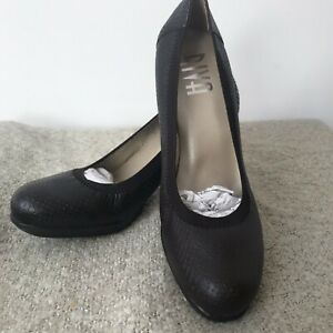 RIVA modabela Made in Spain Real Leather Court Shoes Sz 6.5 Eur40 RRP£80