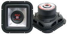 1 New Pyle PLSQ10D 10'' 1200 Watt  Square DVC Subwoofer Sub Car Audio