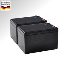 2x 12V Batterie für Mähroboter Robomow RM510 WARTUNGSFREI AGM Roboter Mäher Akku