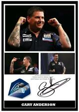 120. gary anderson  Darts  Signed   Photograph # GREAT GIFT  .....