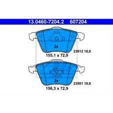 ATE Brake Pads 13.0460-7204.2 Brake Shoe Volvo V50 Mw