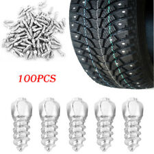 100pcs Car Tyre Non-slip Screws Tire Stud Spikes Ice Snowmobile Tire Accessory