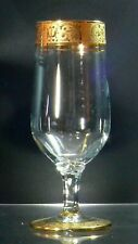 VINTAGE GILDED RIMS WINE GLASS