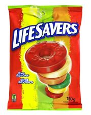 Life Savers Five Flavour, Peg Bag, 150gm, 12 Count {Imported from Canada}