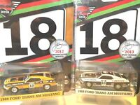Australian Diecast Expo John Bowe 1969 Mustang Pair *Greenlight* Convention