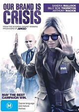 Our Brand Is Crisis (Dvd) Comedy, Drama Sandra Bullock, Billy Bob Thornton Film