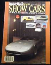 Show Cars Road & Track presents the world's most exciting automobile fantasies