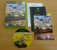 RalliSport Challenge - Xbox Game Complete With Manual Rally Race Racing