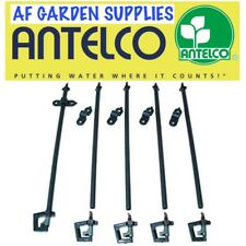 Micro Garden Irrigation/Watering Overhead Rotor Spray Rotary Sprinkler Kit X 5