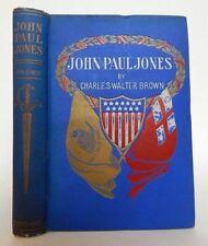 1902- JOHN PAUL JONES- US Navy- Revolutionary War Hero- Naval Commander Illustra