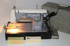 Vintage KENMORE 158.481 Heavy Duty Zigzag Sewing Machine w Case & Access 1.2 amp