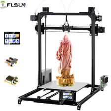 2019 Large Prusa I3 Flsun 3D Printer Auto-leveling Dual Extruder Touch Screen