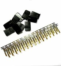 Compatible Futaba Set Male Connector Plug Gold Plated 3 Pin 10