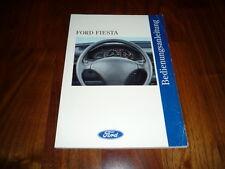 Ford Fiesta Bedienungsanleitung 03/1994