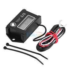 LCD Digital Tachometer Tach/Hour Meter Gauge RPM Tester For 2/4 Stroke Engine