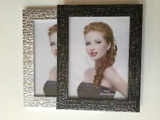 Silver Black Sparkle Photo Picture Display Frame