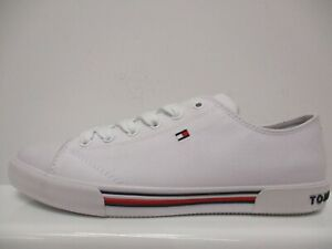 Tommy Hilfiger Canvas Low Lace Trainers Junior Gilrs UK 4 US 4.5 EUR 37 F1442