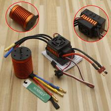 New Brushless Motor 60A ESC Combo Kit For 1/10 RC Car Waterproof 4370KV RC763