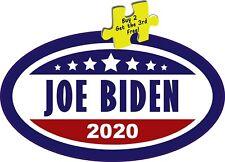 "2020 President Joe Biden Washington White House Oval Decal Sticker 3.25"" x 5.5"""