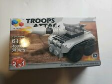 Troops Attack Military Building Toy 2 in 1 Tank